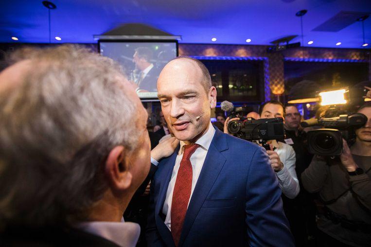 Partijleider Gert-Jan Segers van de ChristenUnie. Beeld anp