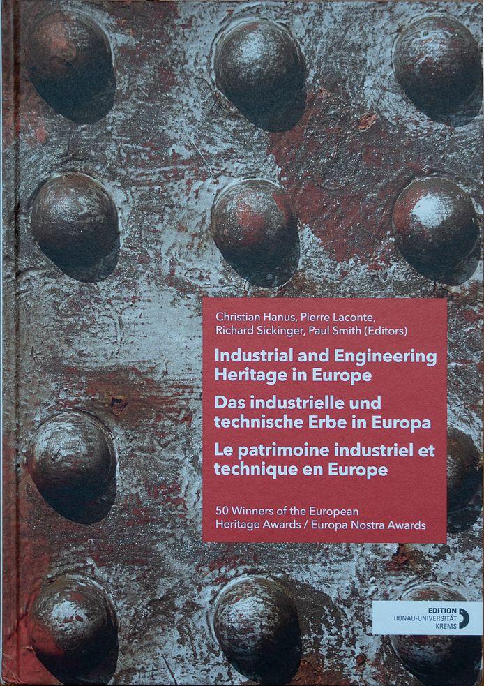 De omslag van het boek over winnaars van de Europe Nostra Award, waarin ook de restauratie van de Langstraatspoorbruggen aan bod komt. De omslagfoto is van Anton van Tuijl.