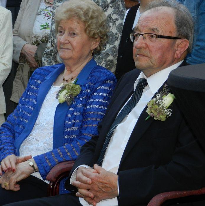 Echtpaar Van Lankveld- Bouwdewijns uit Keldonk is op 25 september 65 jaar getrouwd