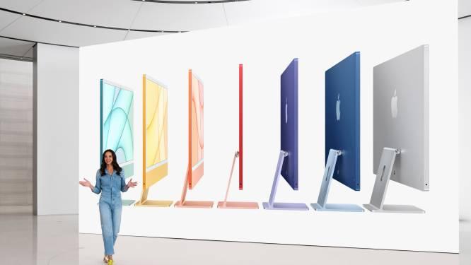 """Apple lanceert iMac in zeven verschillende kleuren: """"De roaring twenties komen eraan, alles krijgt meer kleur"""""""