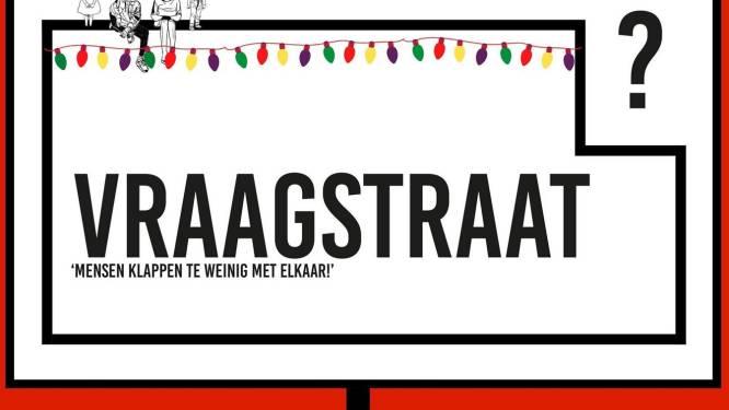 """Artistiek buurtproject Vraagstraat verspreidt wéér brief in drie talen: """"We nemen in alle toonaarden afstand van het schrijven"""""""