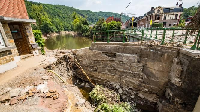 Riolen vol vuilnis en stenen: spoedwerken in provincie Luik om nieuwe overstromingen te beperken
