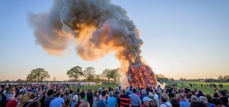 Dit jaar helemaal geen paasvuren in Twente