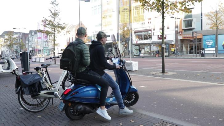 Elektrische scooter nog niet populair in Utrecht