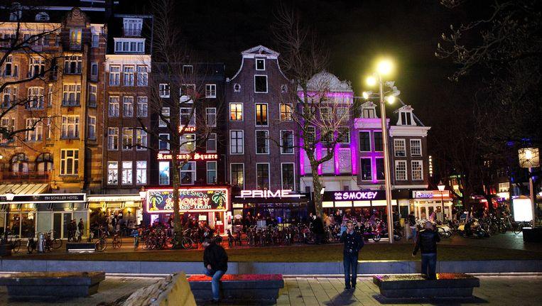 Het Rembrandtplein in Amsterdam Beeld ANP XTRA