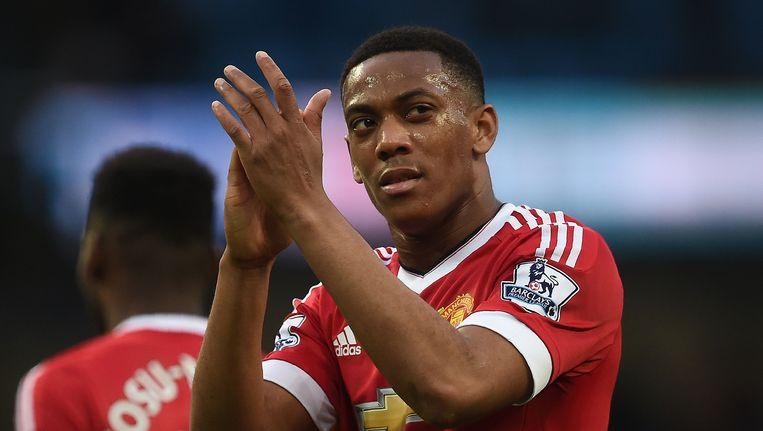 Football Leaks maakte onder meer de transferdeal Van Anthony Martial naar Manchester United openbaar. Beeld AFP