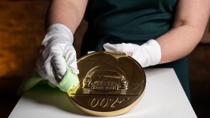 James Bond op grootste Britse munt ooit gemaakt