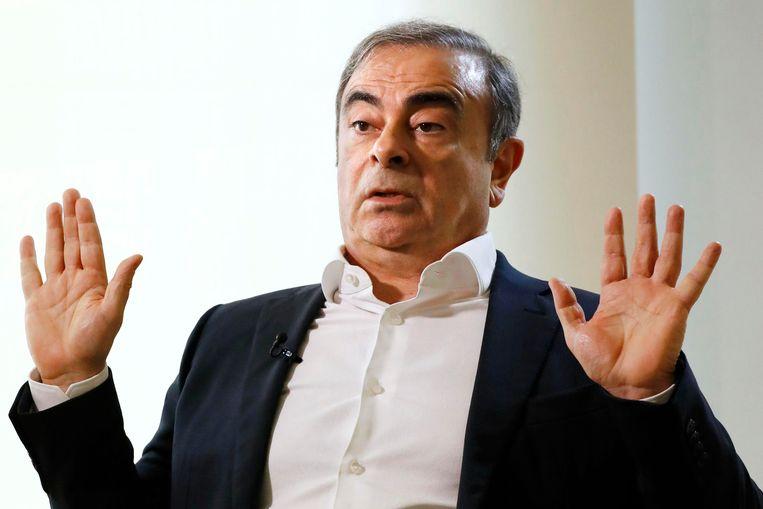Carlos Ghosn.  Beeld AP