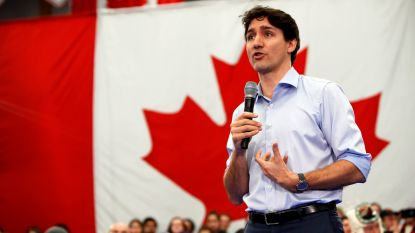 """Slaat de politiek correcte slinger door?  Canadese premier Trudeau corrigeert vrouw: """"Zeg niet 'mankind', maar 'peoplekind'"""""""
