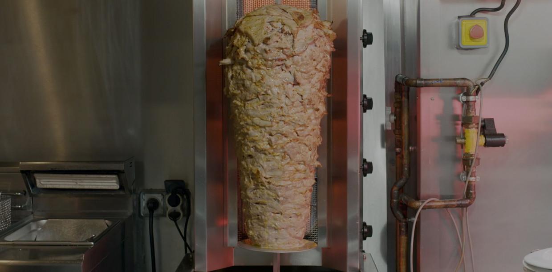 Slow tv met kebab in de hoofdrol. Beeld Vice
