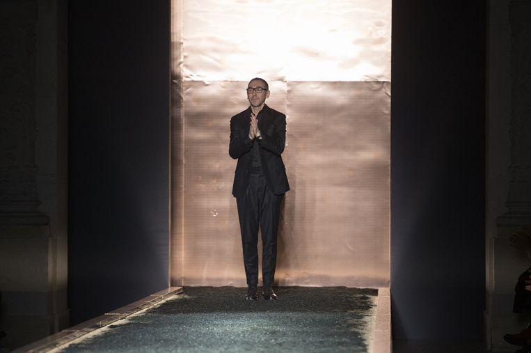 Bye bye Berluti, hello Zegna: ontwerper Alessandro Sartori. Beeld getty