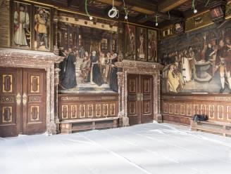 IN BEELD. Restauratie interieur Antwerps stadhuis volop aan de gang