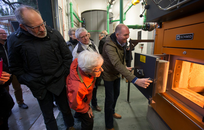 Een kijkje in een van de biomassacentrales van Ede.