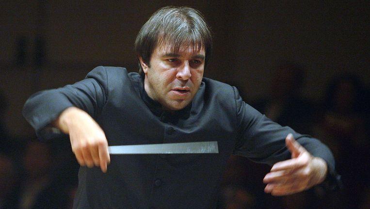 Daniele Gatti voor het Boston Symphony Orchestra in 2009 in Carnegie Hall. Beeld Stuart Ramson