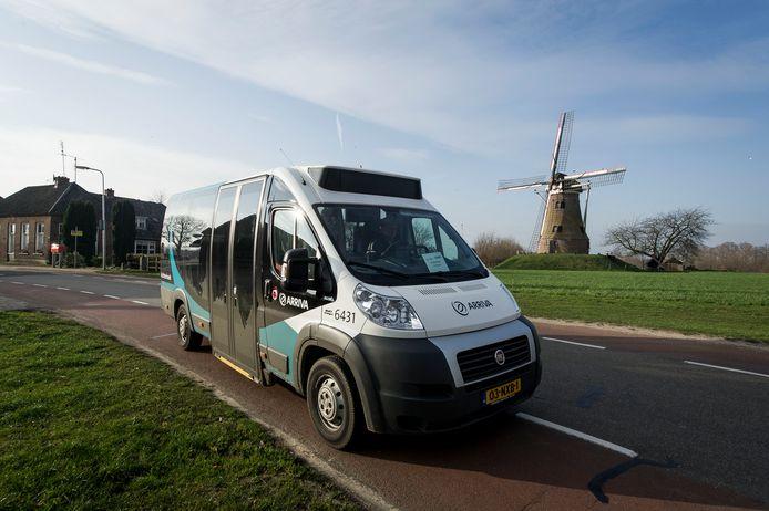 Buurtbus 199 die van Eibergen via Rekken naar Haaksbergen gaat, staat nog één week op stal.
