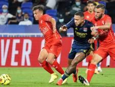 Memphis verspeelt met nieuw rugnummer opnieuw punten met Lyon