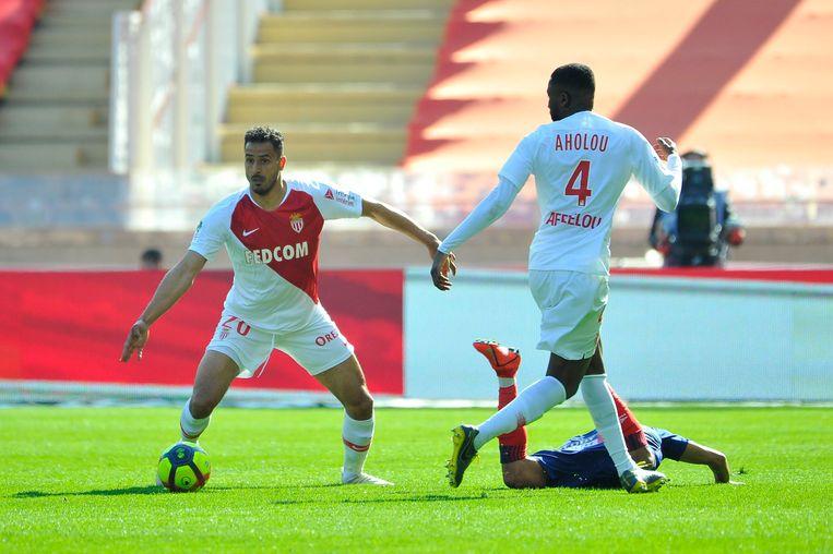Ook Chadli kon het tij niet keren tegen Caen.
