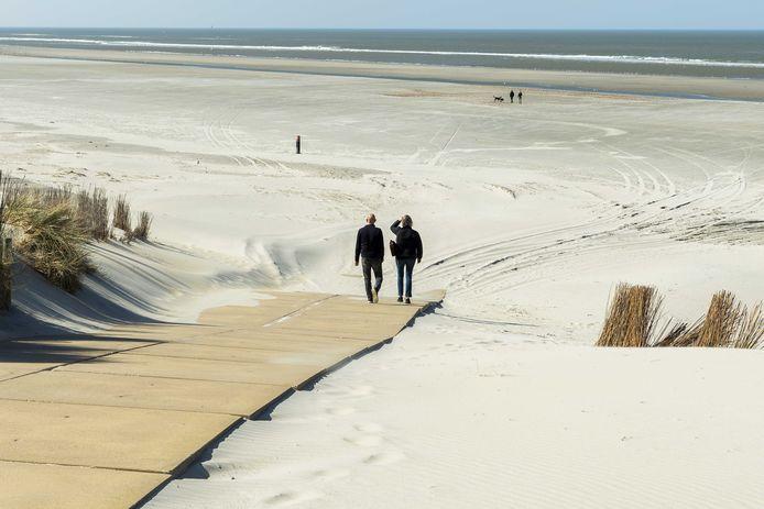 Het strand van Ameland