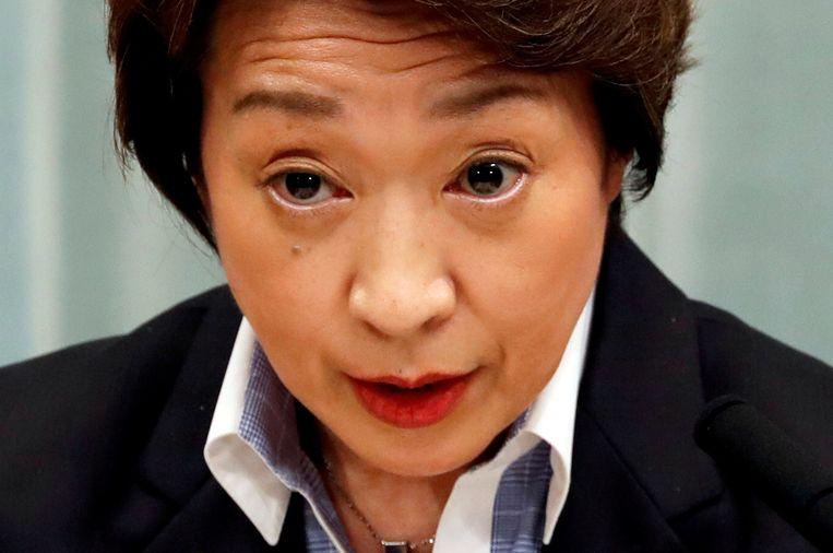 Seiko Hashimoto vormt een groot contrast met haar voorganger. Beeld Reuters