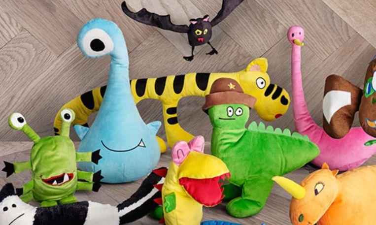 ikea maakt van kindertekeningen cht speelgoed. Black Bedroom Furniture Sets. Home Design Ideas