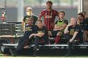 Frank de Boer tijdens het MLS is Back Toernooi.