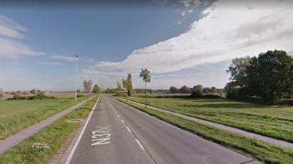 Werken op verbindingsweg A19 en Meenseweg