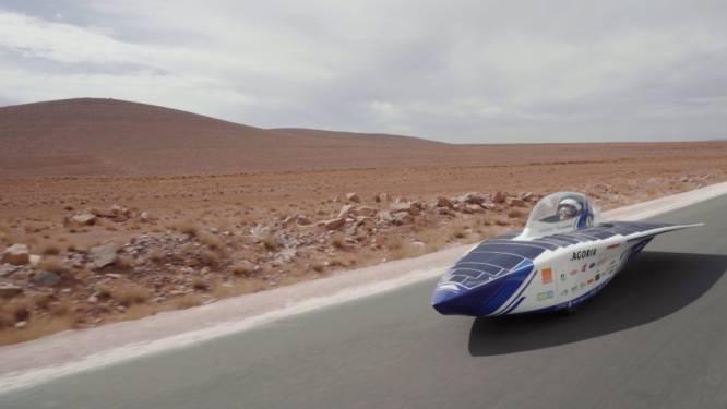 Belgische zonnewagen wint meteen eerste race in Marokko