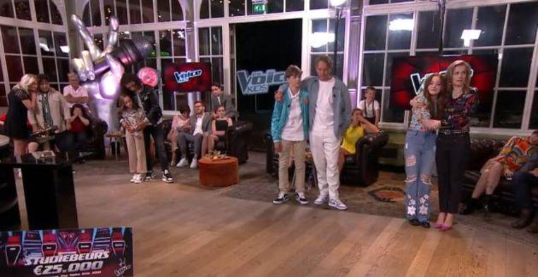 Finale The Voice Kids Beeld RTL