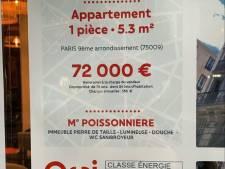 Un appartement parisien de 5,3 m² affiché... 72.000 euros