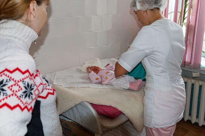 russia baby changing table
