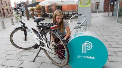 Openbare fietspompen in dorpscentra