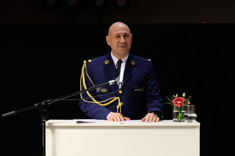 Walter Coenraets gaat aan de slag als korpschef van de lokale politiezone Balen-Dessel-Mol. Beeld Politie Balen-Dessel-Mol