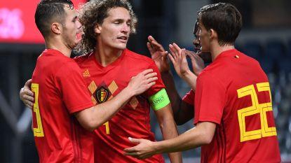Het was fun: jonge Duivels winnen met 4-1 van Moldavië