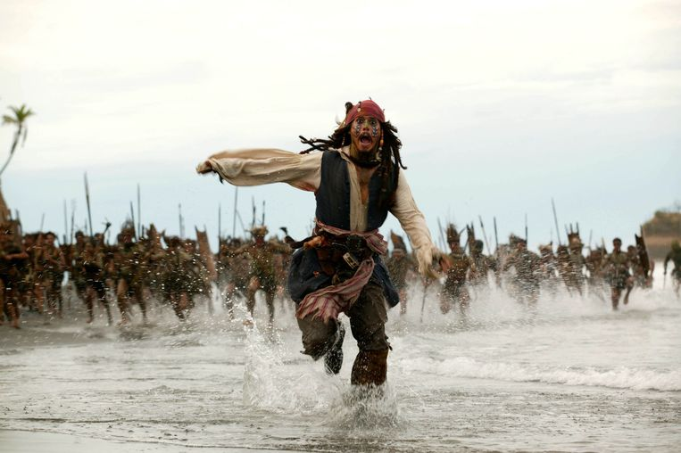 'Pirates of the Caribbean' kun je straks in de VS niet meer op Netflix bekijken, maar wel via een abonnement op de eigen dienst van Disney. Beeld