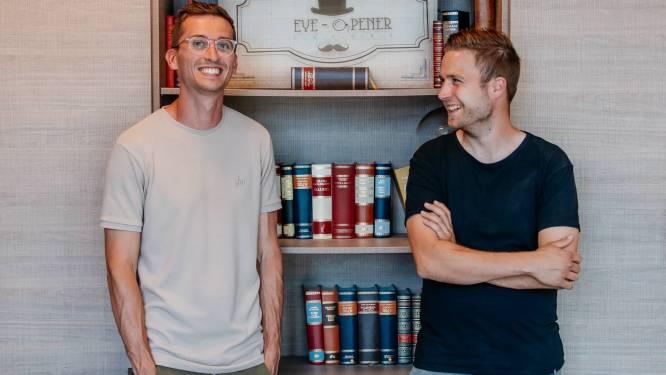 """""""Op een jaar van geen poen naar een miljoen"""" Speelhuisjes van decorbouwers Siemon (31) en Lars (26) zijn populair tot in de Emiraten"""