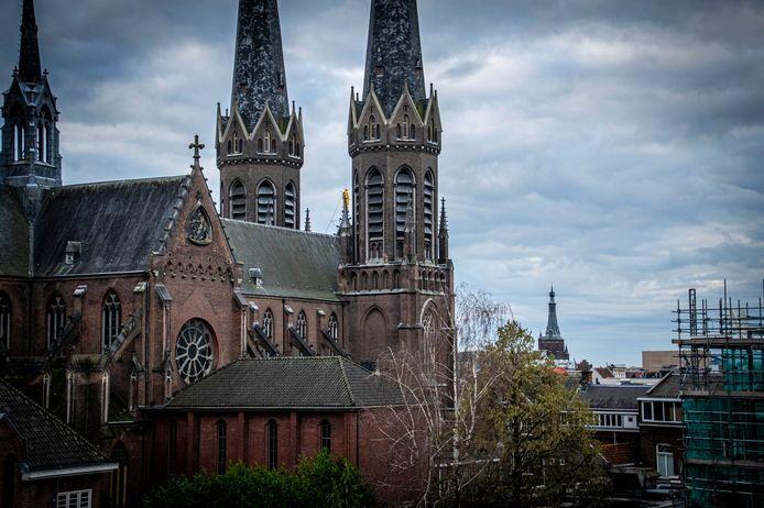 De Heuvels kerk vanuit het Veemarktkwartier.