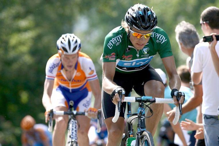Edvald Boasson Hagen was bijzonder actief in de rit van vandaag, maar winnen zat er niet in. Beeld UNKNOWN