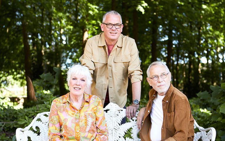 Ernst, Tonny en Chris Beeld Petronellanitta