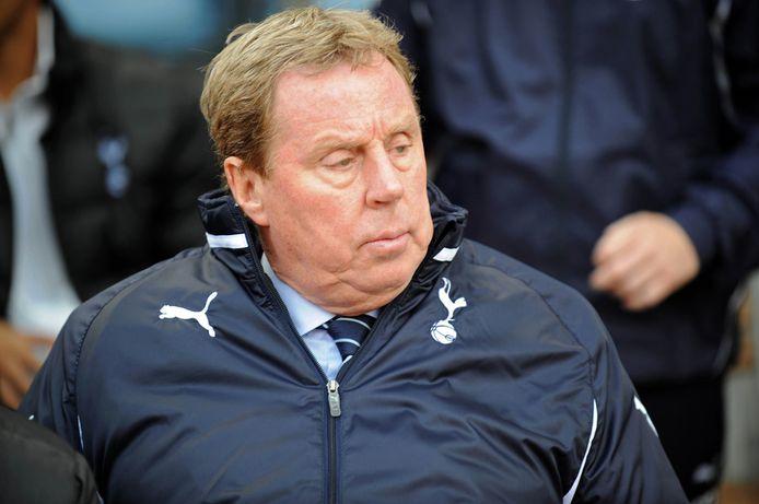 Harry Redknapp als manager van Spurs.