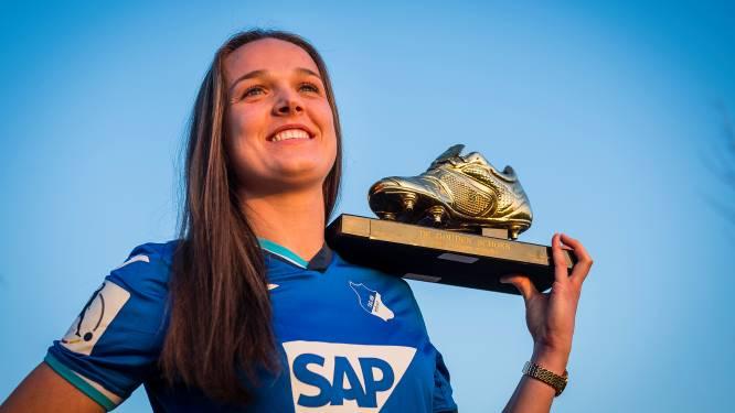 """De Caigny over haar transfer naar Hoffenheim: """"Duits oefenen met 'Sturm der Liebe'"""""""