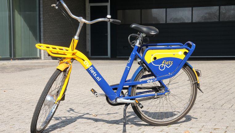De ov-fiets: drie seconden duurt het om er één te huren. Beeld