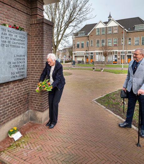 Bloemen voor Arnhemse slachtoffers van 'blunderbombardement', bij gebrek aan echte herdenking