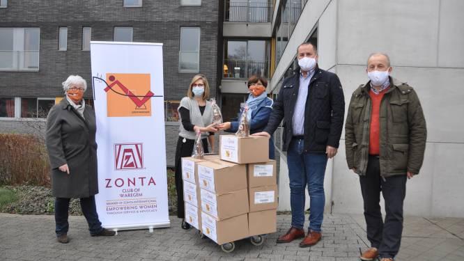 """Serviceclub Zonta Waregem schenkt Sinterklaaschocolade aan rusthuispersoneel: """"Teken van oprechte appreciatie"""""""