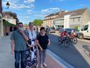 Julie De Wilde uit Laarne van Plantur-Pura kon rekenen op supporters tante Tita, nonkel Luc en meme Monique.