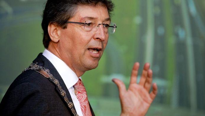 Burgemeester Aleid Wolfsen van Utrecht tijdens de officiële opening van de Leidsche Rijntunnel in de A2, begin juli.