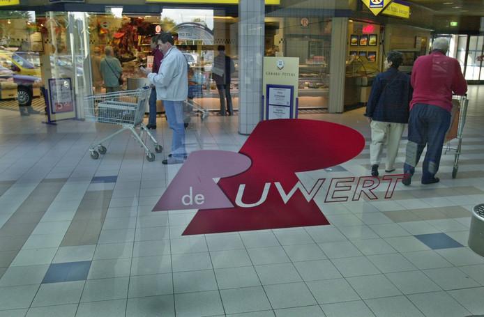 Winkelcentrum De Ruwert in Oss.