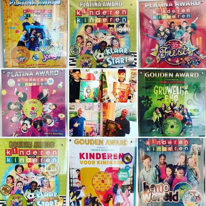 Albums van Kinderen voor Kinderen, geproduceerd door Oosterhuis
