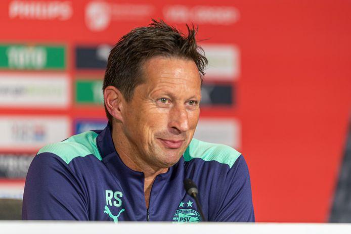 Roger Schmidt, de trainer van PSV.
