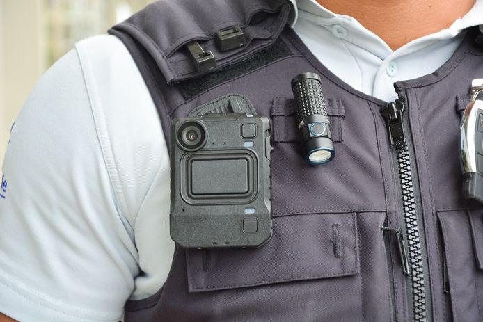 Zo ziet een bodycam van de politie eruit.