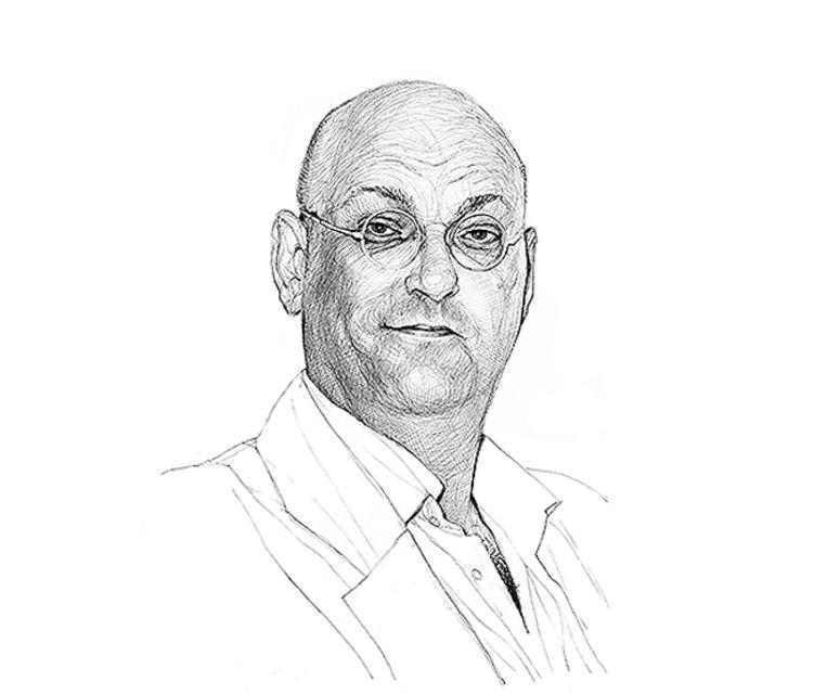 Hans van der Beek column Beeld Artur Krynicki